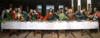Last Supper (copy after Leonardo)