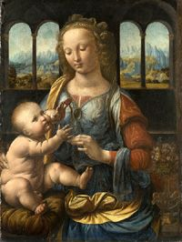 Madonna and Child with a Carnation © Alte Pinakothek