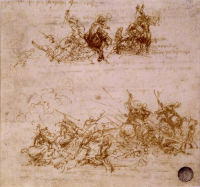 Two skirmishes between horses and foot soldiers © Ministero per i Beni  e le Attività Culturali, Polo Museale Veneziano